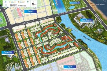 Sentosa Riverside - 2 mặt tiền cây xanh, hướng Đông cực mát - Giá cam kết tốt