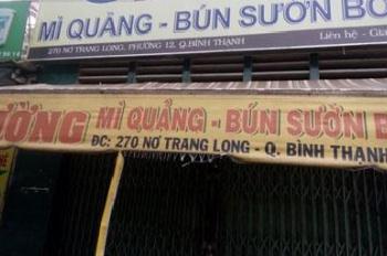Cho thuê mặt bằng MT số 270 đường Nơ Trang Long, TP Hồ Chí Minh