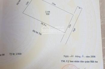 Bán gấp đất mặt đường Nhà Mạc, Tràng Cát, 309m2, giá 10 tr/m2
