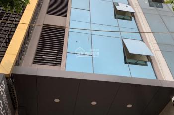 Cho thuê nhà mặt phố Lê Văn Thiêm, DTXD 60m2 x 7 tầng, MT 6,5m, thang máy, thông sàn. Giá 75tr/th