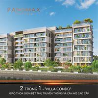 Panomax River Villa ở căn hộ cao cấp mà như ở biệt thự vườn, cổng riêng sân vườn riêng 42tr/m2