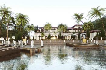 Nền dinh thự + vườn sinh thái + bến du thuyền dành cho doanh nhân ngay sông Q9, 20tr/m2, LH 0903042