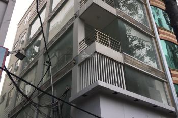 Gia đình cho thuê nhà 2 mặt tiền 25A Cao Thắng Q3 5.5x18m trệt 5 lầu sân thượng thang máy sàn trống