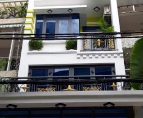 Bán nhà đường Nguyễn Thái Bình, p. 12, Q. Tân Bình. DT: 4x17m, 4 tấm giá 10 tỷ TL