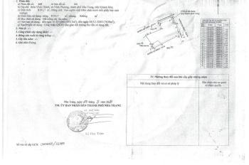 Chính chủ cần bán đất đẹp thôn Tân Thành xã Vĩnh Phương, Nha Trang giá chưa bằng 1/2 giá thị trường