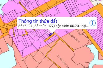 Bán gấp lô đất 2 mặt tiền Phường Long Bình Tân kế bên khu dân cư Bình Dương giá 1,58 tỷ, 0907239186