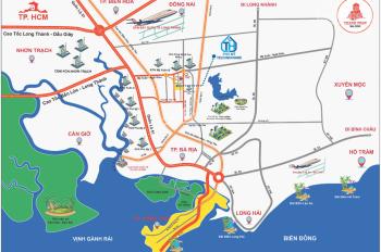 Bán đất Phú Mỹ ngay chợ Hắc Dịch, liền kề khu công nghệ cao 450ha. Sổ hồng sẵn ngân hàng hỗ trợ 70%