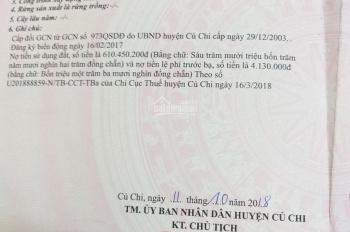 Cần bán đất thổ cư Ân Phú Trung huyện Củ Chi TP HCM