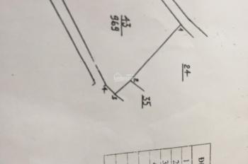 Cần bán lô góc 3 mặt tiền trục chính tại Tân An - Sơn Đông - TX Sơn Tây