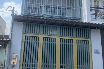 Nhà đúc 1 trệt 1 lầu 4m x 16.5m, 66m2, sổ hồng, mặt tiền đường Đông Hưng Thuận 11, Quận 12