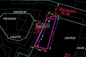 Bán nhà hẻm thông 5m Âu Cơ, Phường 10, Tân Bình, TP HCM