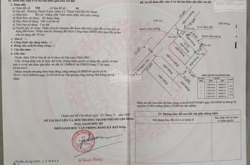 Chính chủ cần bán gấp đất Tô Ngọc Vân, P. Thạnh Xuân, Q. 12 giá 3.1 tỷ có thương lượng