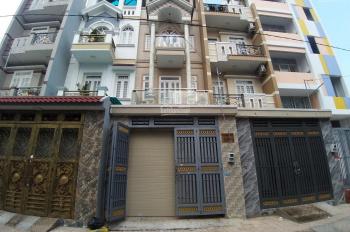 Bán nhà 1 trệt 3 lầu, 4,1x14,6m, hẻm 7m 1 sẹc Hương Lộ 2, Bình Trị Đông A