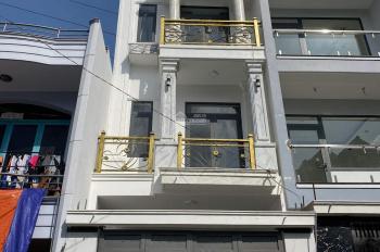 Bán nhà mới 3 lầu hẻm nhựa 8m 1 sẹc Hương Lộ 2, DT 4x16m, giá chỉ 4.9 tỷ