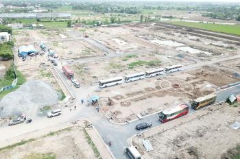 Bán sỉ 10 lô đất trục chính 20m KDC Tân Lân, giá 420tr/nền ngay MT QL50