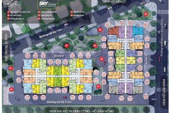 Suất ngoại giao căn hộ ban công Đông Nam chung cư Sky Central 176 Định Công