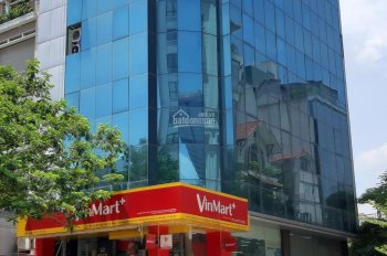 Bán tòa nhà văn phòng phố Nguyễn Chánh - Cầu Giấy, DT: 180m2 x 9 tầng, có hầm, lô góc - giá: 59 tỷ
