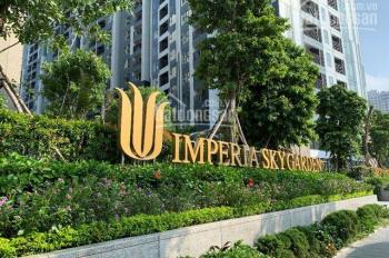 Chính chủ bán gấp căn hộ 3PN, 106m2, 3.5 tỷ, tòa A, dự án Imperia Sky Garden, 423 Minh Khai