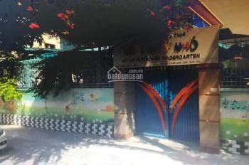 Cho thuê nhà mặt tiền Mai Thị Lựu, phường Đa Kao Quận 1. DT: 18m*25m, 1 lầu giá 110tr