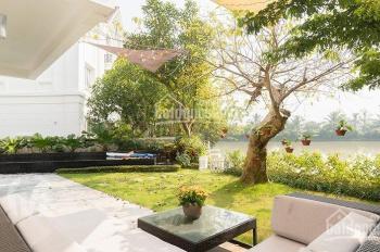 Bán biệt thự khu Hoa Lan, 279m2, 20.9 tỷ, hoàn thiện đẹp, ngã 3 sông, view vườn hoa Vinhomes