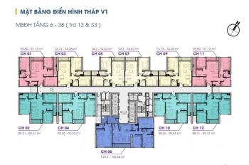 30 căn cuối cùng V1-V2-V3 - tầng đẹp - giá tốt nhất The Terra An Hưng CK 8%, Ls 0%. LH 0981988802