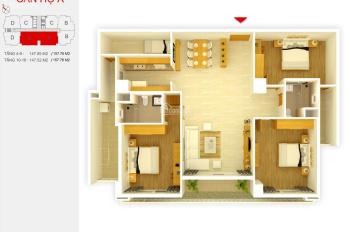Bán căn hộ 3 phòng ngủ chung cư C3 Golden Palace Lê Văn Lương, giá 35tr/m2. LH: 0974538128