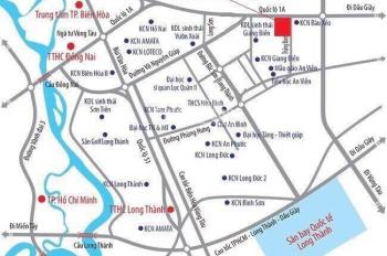 Chính chủ bán đất ngay KCN Bàu Xéo, mặt tiền Quốc Lộ 1A, 90m2, chỉ 1.3 tỷ/nền