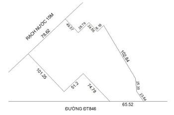 Bán đất đường ĐT 846 cách tuyến tráng Ql30 khoảng 200m, thuộc xã Mỹ Tân, TPCL. LH 0986.904.186