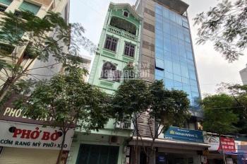 Bán gấp nhà phố Trần Thái Tông Cầu Giấy 7 tầng 192m2 thông sàn cho thuê sinh lời kinh doanh hốt bạc