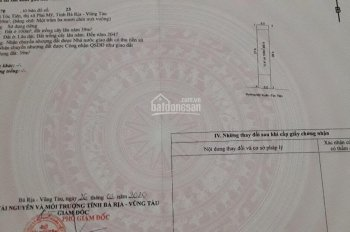 Còn sót 2 lô trung tâm thị xã Phú Mỹ, sổ riêng thổ cư, LH 0904294241