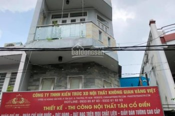 Nhà bán MT đường Hoàng Văn Hòe ,P.Tân Quý , Q.Tân Phú (4m x 11m) - 1 trệt ,lửng , lầu ST - 5.35 tỷ