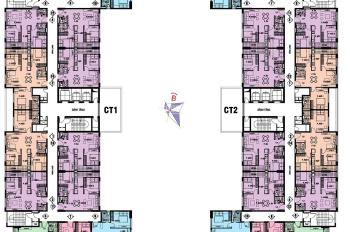 Cần bán căn 1501 tòa CT1, dự án NƠXH @Home, 987 Tam Trinh, DT: 70m2, giá: 1,4 tỷ. 0387720710