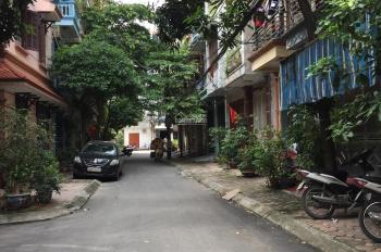 Bán nhà phân lô số 51 ngõ 389 Hoàng Quốc Việt, 37m2 x 5 tầng, MT: 4m, ô tô đỗ cửa. Giá: 6,3 tỷ.