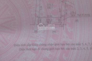 Cần bán Lô đất thổ cư sổ đỏ chính chủ.dt 50.1 m.ở xã La phù Hoài Đức HN.gần đường Lê Trọng Tấn Hà Đ