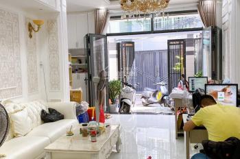 Bán nhà HXH đường Nguyễn Thị Tần P2, Q8, DT: 5,5 x 11m nở hậu 6,2m, KC: 2 Lầu ST nhà đẹp thiết kế