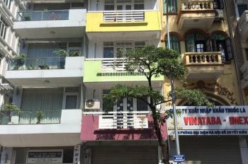 Cho thuê nhà MP Nguyễn Khuyến: 110m2 x 6 tầng, mặt tiền 4m, thang máy, riêng biệt. 0974557067