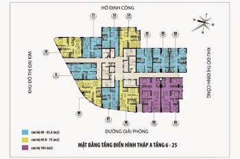 Bán căn hộ 10 tòa A CT36 Định Công - Căn hộ tối ưu không gian, đẹp nhất tòa A - 70m2 - 1.7 tỷ