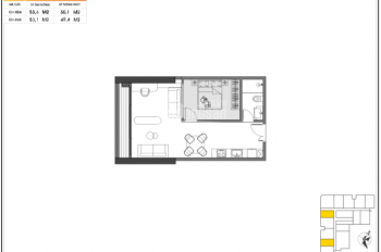 Bán căn 1 PN, diện tích 50-55 m2 giá 1,3 tỷ, chung cư Green Diamond Yết Kiêu Hạ Long. 0978666311