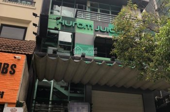 Nhà mặt tiền Nguyễn Cư Trinh ngang 6m dài 14m, trệt 2lầu trống.