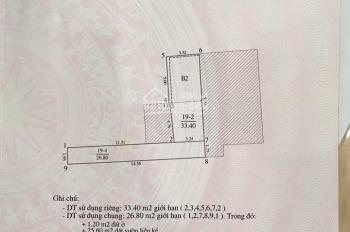 Nhà phố Văn Cao 34m 3 tầng mặt tiền 3,4m giá 3.5 tỷ LH: 0826111189
