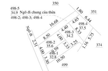 Bán nhà về ở ngay 37.5m x 3 tầng.Giá:1 tỷ 400 tại xã An Khánh