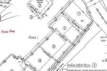 Cần thanh lý nhanh 6 lô đất đường PHAN ĐÌNH PHÙNG thông ra HUỲNH VĂN BÁNH. Giá 2tỷ7/ 45m2, sổ hồng