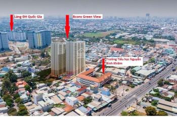 Bcons Green View căn hộ xanh gần Làng ĐH Quốc Gia, giá gốc CĐT