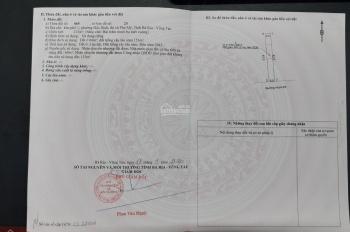 Đầu tư đất nền Phú Mỹ - BRVT, giá 6 triệu/m2, đã có sổ hồng, thổ cư, gần KCN Hắc Dịch 450 ha
