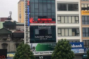 Chính chủ cần cho thuê gấp sàn văn phòng 120m2 tại 18 Khúc Thừa Dụ