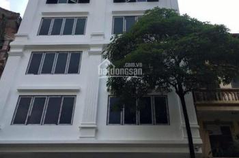 Cho thuê nhà mới xây chưa SD MP Trần Cung, Nghĩa Đô, 70m2 * 6 tầng 1 tum, giá 42 tr. LH 0968120493