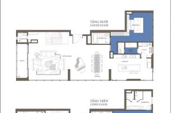 Sang nhượng căn Duplex tòa Bora Bora Đảo Kim Cương, có hồ bơi riêng, giao thô, LH 0909932193