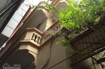 Nhà riêng ngõ phố Trần Khát Chân, DT 85m2, DTXD 55m2x3T, giá 18tr/th