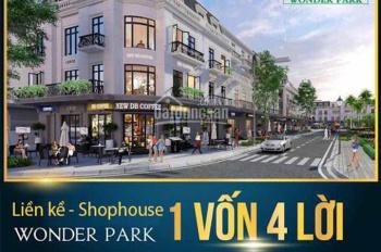 Liền kề - shop house Vinhomes Wonder Park Đan Phượng - cơ hội đầu tư 1 vốn 4 lời - 0869063356