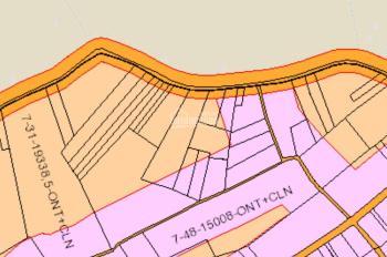 Bán 4900m2 đất mặt tiền đường Cầu Mên tại xã Bình Sơn, Long Thành, Đồng Nai. 2.5tr/m2